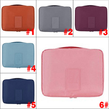 2017 Fashion Large Capacity Color Travel Cosmetic Makeup Toiletry Purse Organizer Hanging Wash Bag Holder AGD FA$B