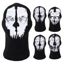 New Balaclava Ghost Skull Bike Cycle Motorcycle Helmet Hood Neck Face Mask