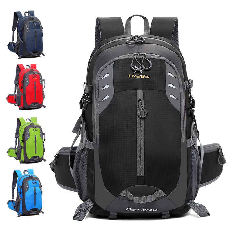Outdoor travel bag large Mountaineering Sports Backpack Climbing Camping Cycling Wilderness Adventures 36-55L Waterproof bag 55l large capacity outdoor backpack camping climbing bag waterproof mountaineering hiking backpack unisex travel bag rucksack