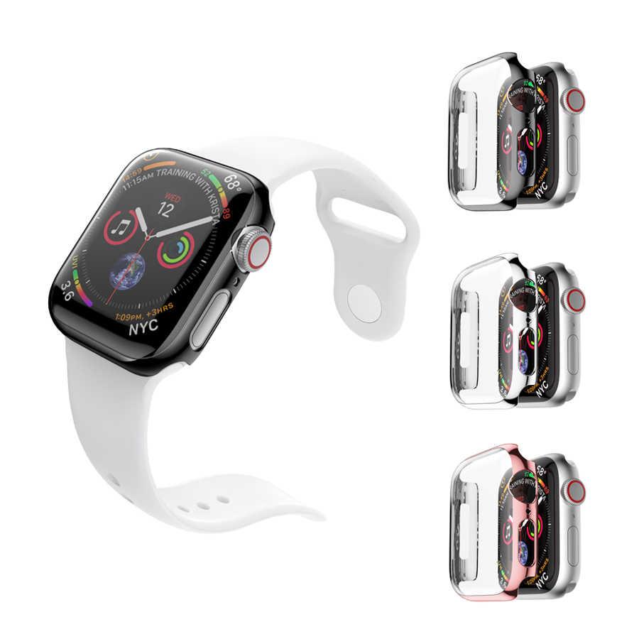 Coque de protection PC pour Apple Watch Series 4 44mm 40mm protection écran protection coque de protection pour iWatch 4