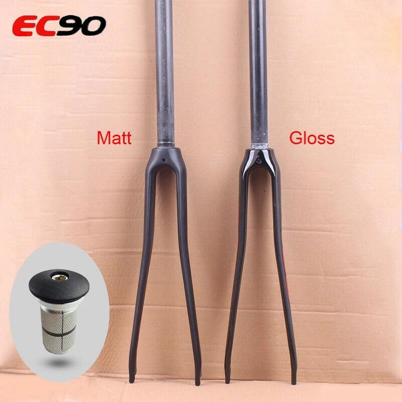 """EC90 700C Rigid Fork Carbon Fiber C Brake Road Bike Bicycle Matt//Gloss 1-1//8/"""""""
