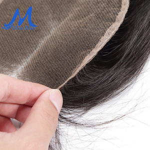 Image 5 - Missblue Brazilian Human Hair Lace Closure Straight 4x4 5x5 Swiss Lace 100% Remy Hair Lace Frontal Closure With Baby Hair