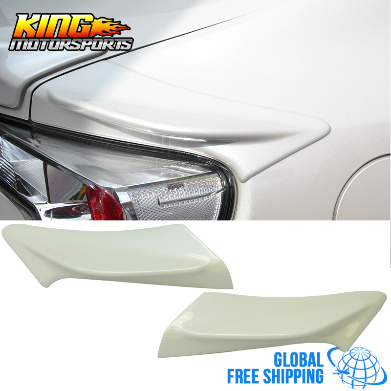 US $149 99 |Aliexpress com : Buy Fit For FRS GT86 FT86 BRZ TR D Painted #  37J Whiteout Pearl Side Spoiler ABS Global Free Shipping Worldwide from
