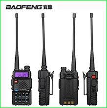 Baofeng Juego de Walkie Talkie portátil caza UV 5R Uv5r para escáner transceptor, Radio comunicador CB Baofeng UV 5R, estación de Radio aficionado