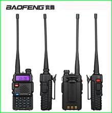 Hunt Portable Walkie Talkie Set UV 5R Baofeng Uv5r for transceiver Scanner CB Radio Communicator Baofeng UV 5R Ham Radio Station