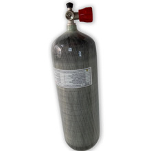AC10911 Pcp Air Rifle Airforce Condor Scuba Tank 9L high pressure cylinder mini bottle dive 4500 psi m18*1.5 For shooting target