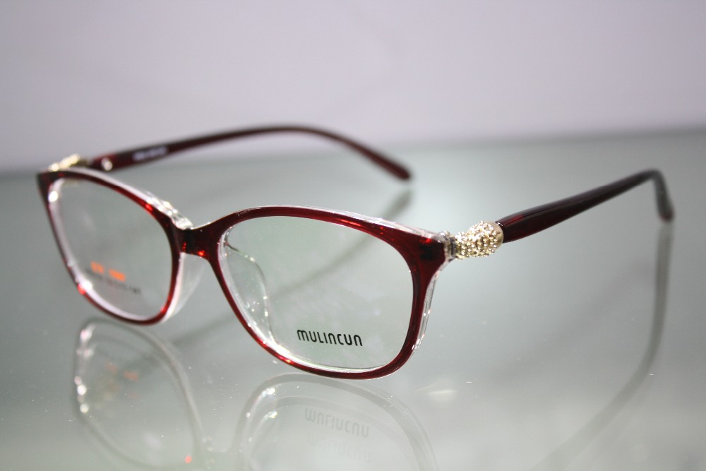 57cdca48b493 Custom made glasses minus shortsighted RED LARGE FRAMED briller reading  glasses 1 1.5 2 2.5 3 3.5 4 4.5 5 5.5 6-in Eyewear Frames from Apparel  Accessories ...