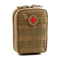 Tactical Medical First Aid Kit Patch Bag Outdoor Utility Pouch Molle Medical Cover Hunting Emergency Survival