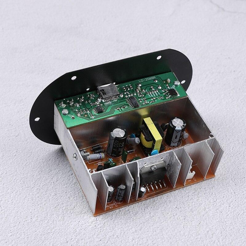 Digital Auto Amplifier Stereo USB TF Radio Audio MP3 Music With Remote 220V New Car Bluetooth HiFi Bass Power AMP