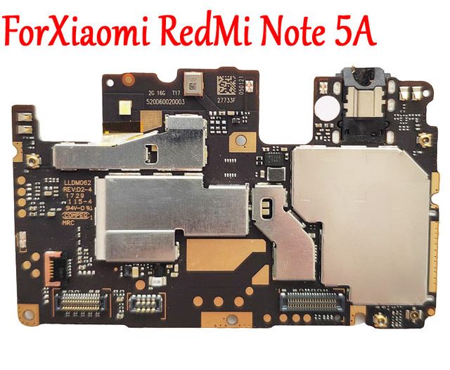 US $88 99 |Tested Full Work Original Unlock Motherboard For Xiaomi Hongmi  Redmi Note 5A Logic Circuit Board Electronic Plate Fast Shipping-in Mobile