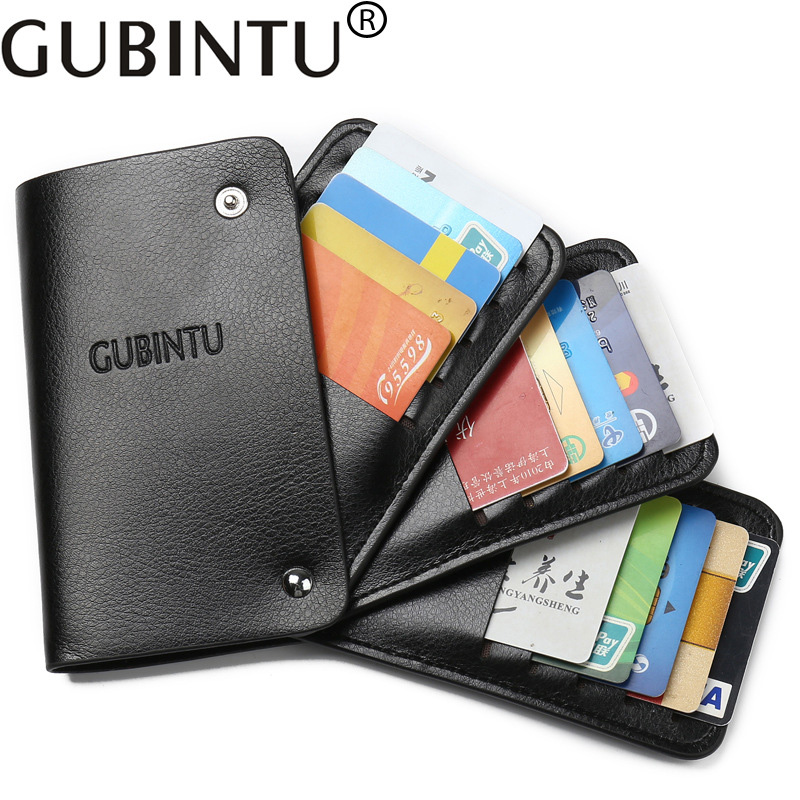 High Quality 30 Slots Card Holder Wallet Credit Card Holder Men Women Rotatable Card Cover Case Wallet Purse Many