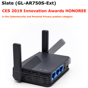 Image 1 - GL. iNET GL AR750S 802.11ac 750 Mbps Không Dây Du Lịch Gigabit AC Router OPENWRT Mini Router Wifi USB 16 MB Cũng Không đèn flash + 128 NAND Flash