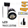 Free fedex shipping AC85-265V 30W 2200LM COB led spotlight track lighting led track lamp supermarket store spot lamps 100pcs/lot