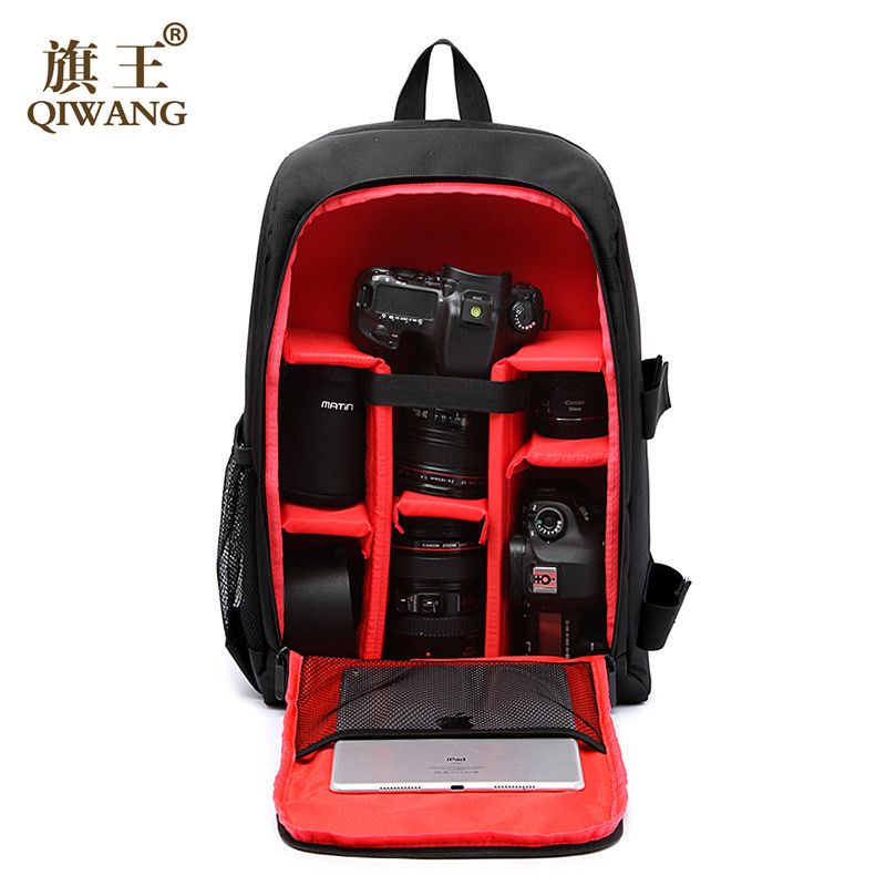 Camera bag zaino Multi-funzionale Borsa Digitale DSLR Camera Bag Video Custodia Antiurto Impermeabile PE Imbottito Fotografo