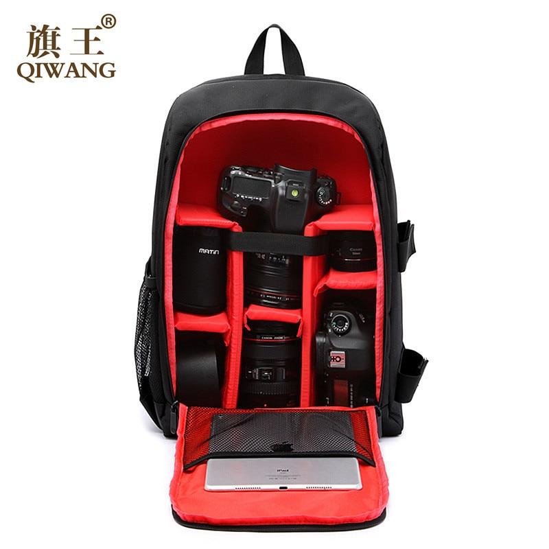camera backpack bag Multi-functional Bag Digital DSLR Camera Bag Video Case Shockproof Waterproof PE Padded Photographer yingnuost f04 multi functional dslr slr camera bag canvas case shoulders backpack 43x33x16 cm