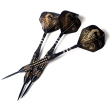 CUESOUL Black Scorpion 24 gram Steel Tip Darts Set