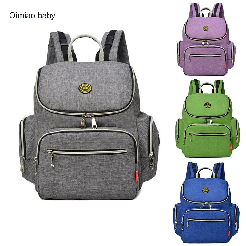 Anti theft mummy bag Backpack Fashion Simple Baby Nappy Bag Big Capacity Maternity Diaper Bag Stroller