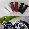 "7/8 ""& 1"" Handle Bar Retro Rubber Motorcycle Bike Vintage Coke Bottle Hand Grip For Harley Truimph Cafe Custom"