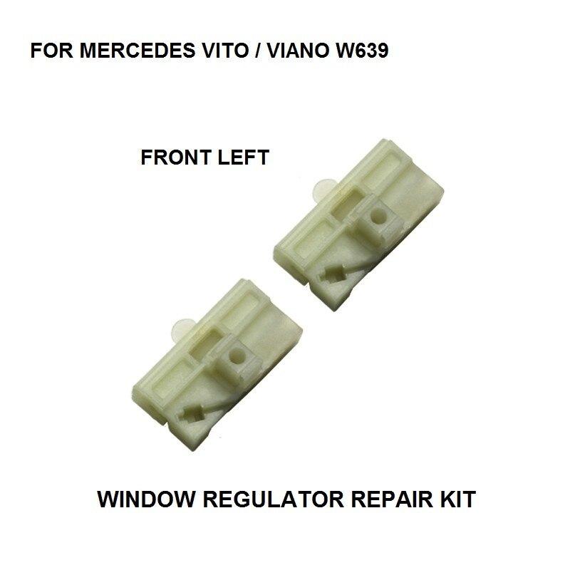 CAR ELECTRIC WINDOW REGULATOR KIT FOR MERCEDES VITO / Viano W639 WINDOW REGULATOR ROLLER FRONT LEFT  2003-2016