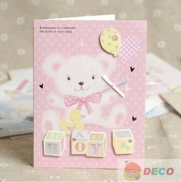 1 Pc 10 5x14 Cm Baru Kartu Bayi Baru Lahir Kartu Kartu Ucapan Harga