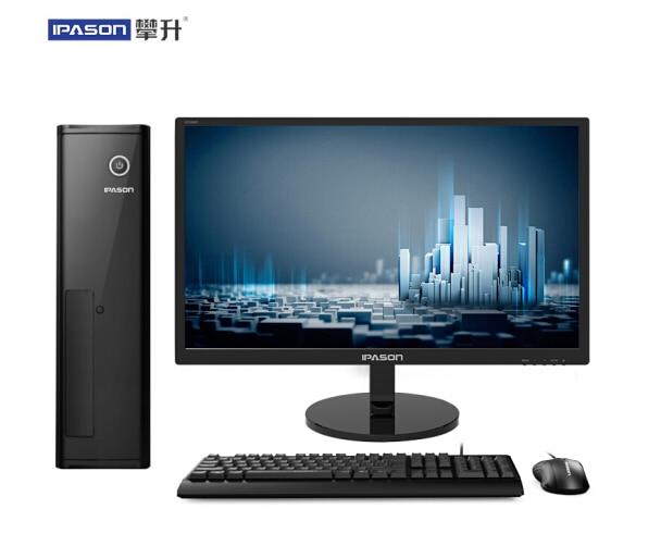 IPASON CHEAP - Fanless Mini PC Intel I3 I5 4 Core/ DDR4 8G /RAM 1T /120G SSD HTPS WiFi HDM Desktop PC For Windows10