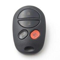 3 + 1 tasten Remote Keyless 315mhz Fit Für 2004 - 2013 Toyota Sequoia Fernbedienung-4B/GQ43VT20T