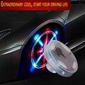 Estilo do carro tampa da válvula do pneu da roda tampas solar luz Para Hyundai Solaris Tucson 2016 I20 Accent I30 IX35 Santa Fe carro Acessórios do carro