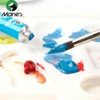 New 24 Color Oil Paints Gouache Paint Tubes Set 5ml Artist Drawing Pigment Painting Pigments Art Supplies