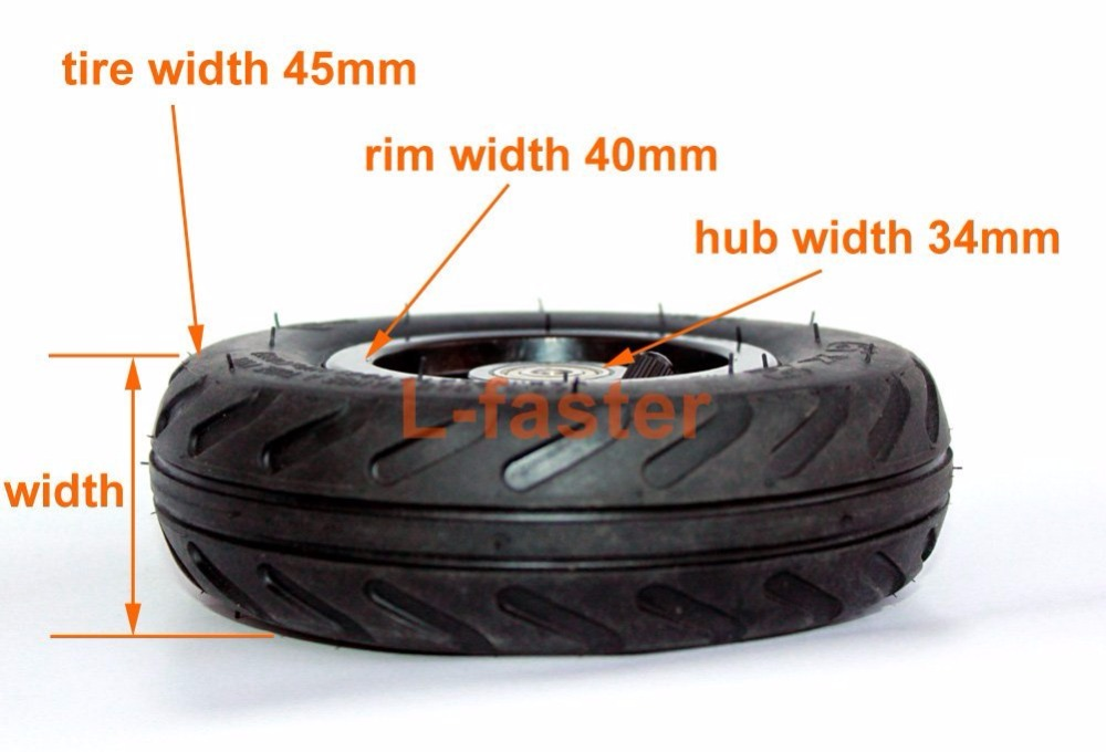 6X2 Inflation Tire Wheel Use 6 Tire Alloy Hub 160mm Pneumatic Tyre Scooter F0 Pneumatic Wheel Trolley Cart Air Wheel