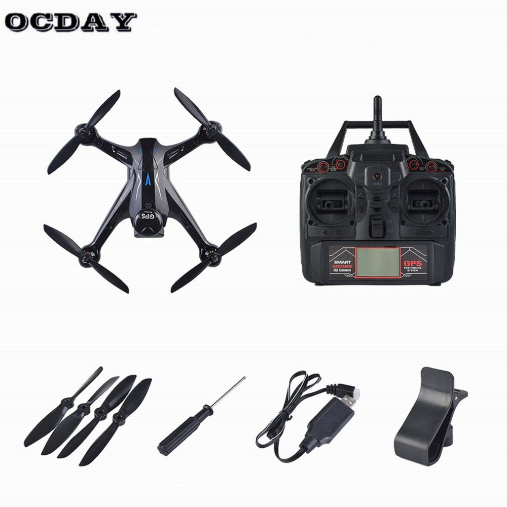 Professional RC Drone Ray X198 GPS Drone Four Axis Aircraft With Fixed Height 720P WiFi Camera Quadrocopter RC DroneProfessional RC Drone Ray X198 GPS Drone Four Axis Aircraft With Fixed Height 720P WiFi Camera Quadrocopter RC Drone