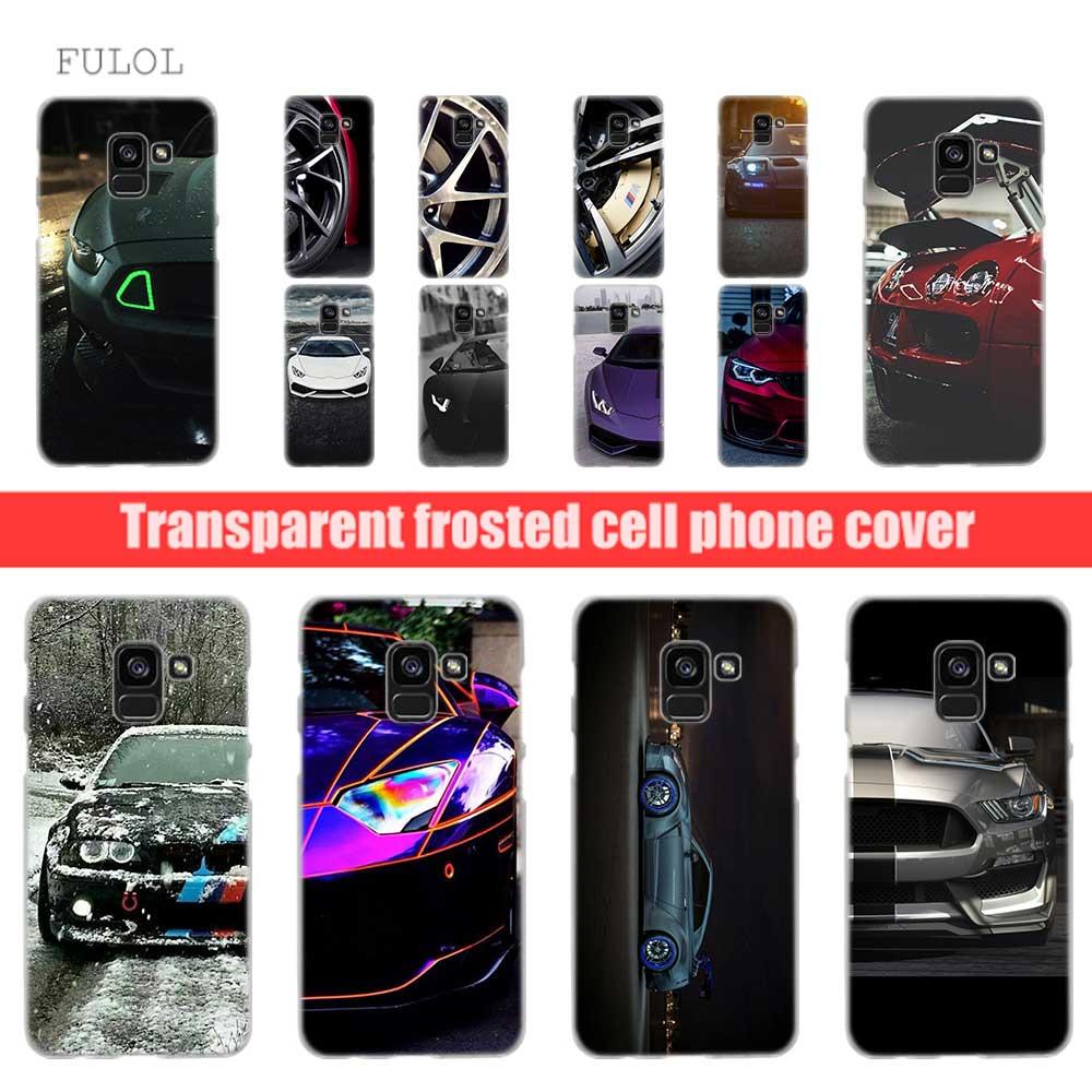 100% Waar Fulcol Sport Auto Super Auto Transparante Fashion Hard Case Voor Samsung Galaxy A3 A5 A6 A7 A8 2016 2017 2018 Grand Prime Opmerking 9 8 5 Beschikbaar In Verschillende Uitvoeringen En Specificaties Voor Uw Selectie