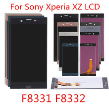 купить LCD For SONY Xperia XZ Display F8331 F8332 Touch Screen Digitizer Replacement Parts For SONY Xperia XZ LCD Display дешево