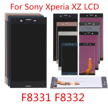 green black for sony xperia c5 ultra 5506 e5533 e5563 e5553 lcd display digitizer sensor glass panel assembly c5 replacement LCD For SONY Xperia XZ Display F8331 F8332 Touch Screen Digitizer Replacement Parts For SONY Xperia XZ LCD Display