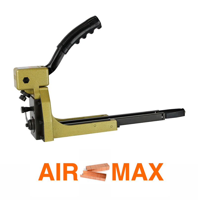Manual Carton Closing Stapler Top Carton Stapler Gun for 35 series (not include the customs tax)