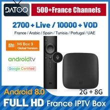 Full HD French IPTV Subscription XiaoMi Mi Box 3 TV Arabic France Turkey Qatar Belgium IP Germany Italy