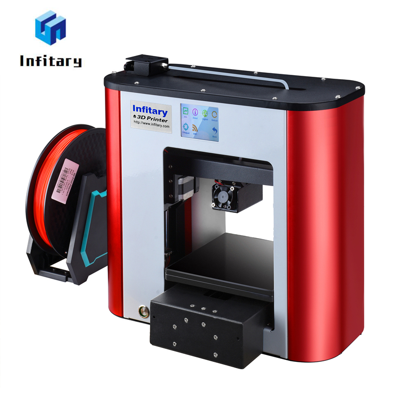 Infitary 3d Printer 2017 Newest Full Metal Assembled 3d