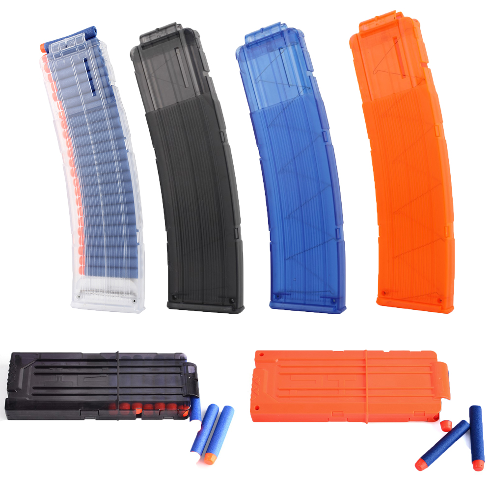 12/22 Pcs Bullets Clip Magazines Round Darts Replacement Bullets Ammo Cartridge Dart For Nerf Gun Clips Plastic Kids Toys