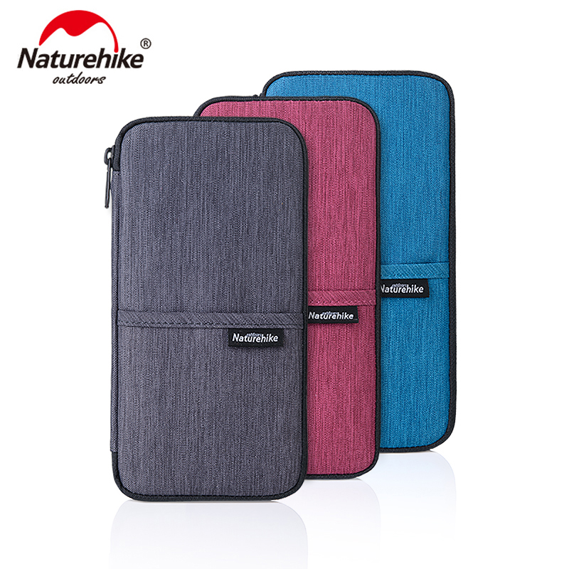 Naturehike Multi Function Outdoor Bag for Cash, Passport, Card Multi Using Travel Wallet NH17C001-B miss booty