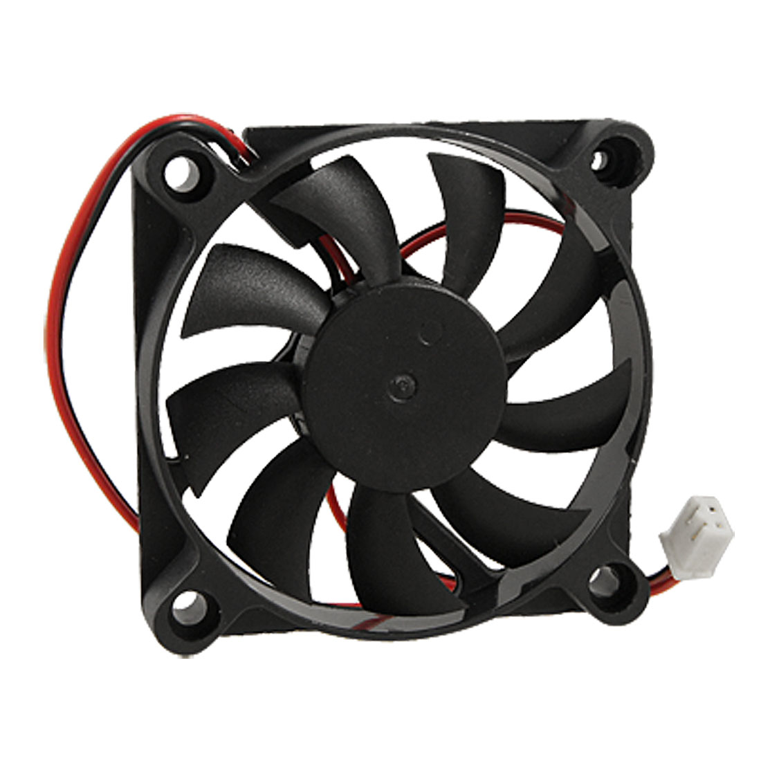 YOC Hot Desktop PC Case DC 12V 0.16A 60mm 2 Pin Cooler Cooling Fan free shipping wholesale delta 12v 0 18a afb0612hhb axial case cooler cooling fan 6015 60x60x15mm 6cm 60mm
