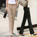 Free shipping summer women's suit OL Formal Pants Office Ladies ' Work Solid Trendy Trouser