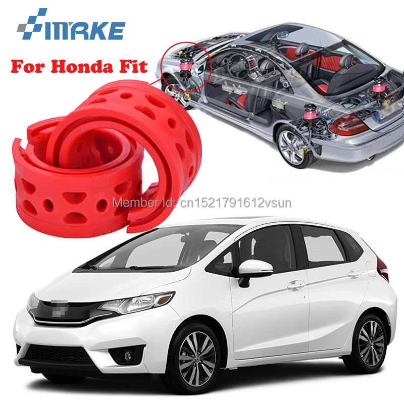 smRKE For Honda Fit High-quality Front /Rear Car Auto Shock Absorber Spring Bumper Power Cushion Buffer persona 5 ps4 vinyl removable waterproof decal skin sticker for sony playstation 4 console