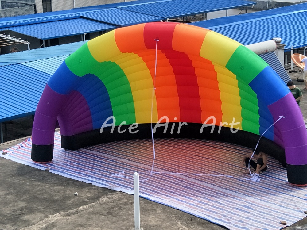 New Desgin Portable Colorful Half Inflatable Dome Style Vango Inflatable Tent Inflatable booth for Exhibition