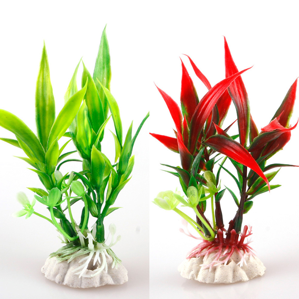 Fish Tank Landscape Decoration Hot Sale New Plastic Plant Grass Aquarium Decorative