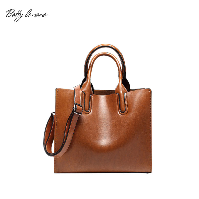 Genuine Leather Bags Handbags Women Famous Brands Big Casual Women Bags Trunk Tote Shoulder Bag Ladies large handbag leather bags handbags women s famous brands bolsa feminina big casual women bag female tote shoulder bag ladies large a54