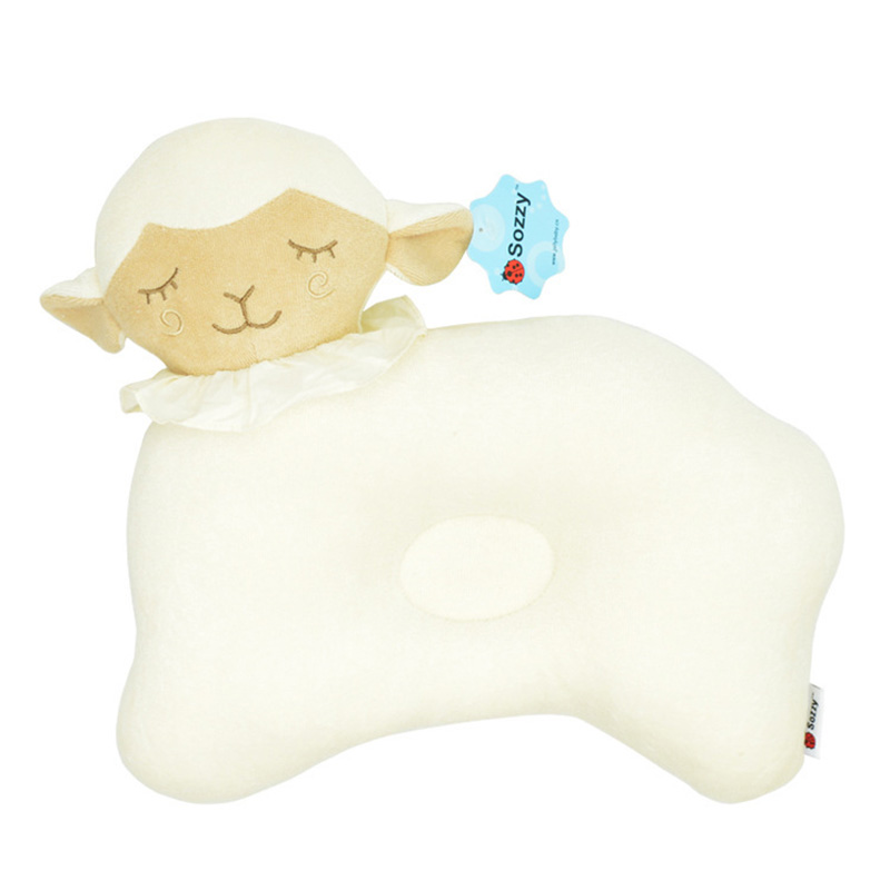 Animal Nursing Pillow : Cotton animal Baby Nursing Pillow Cute Baby Pillow Infant Newborn Sleep Positioner Prevent Flat ...