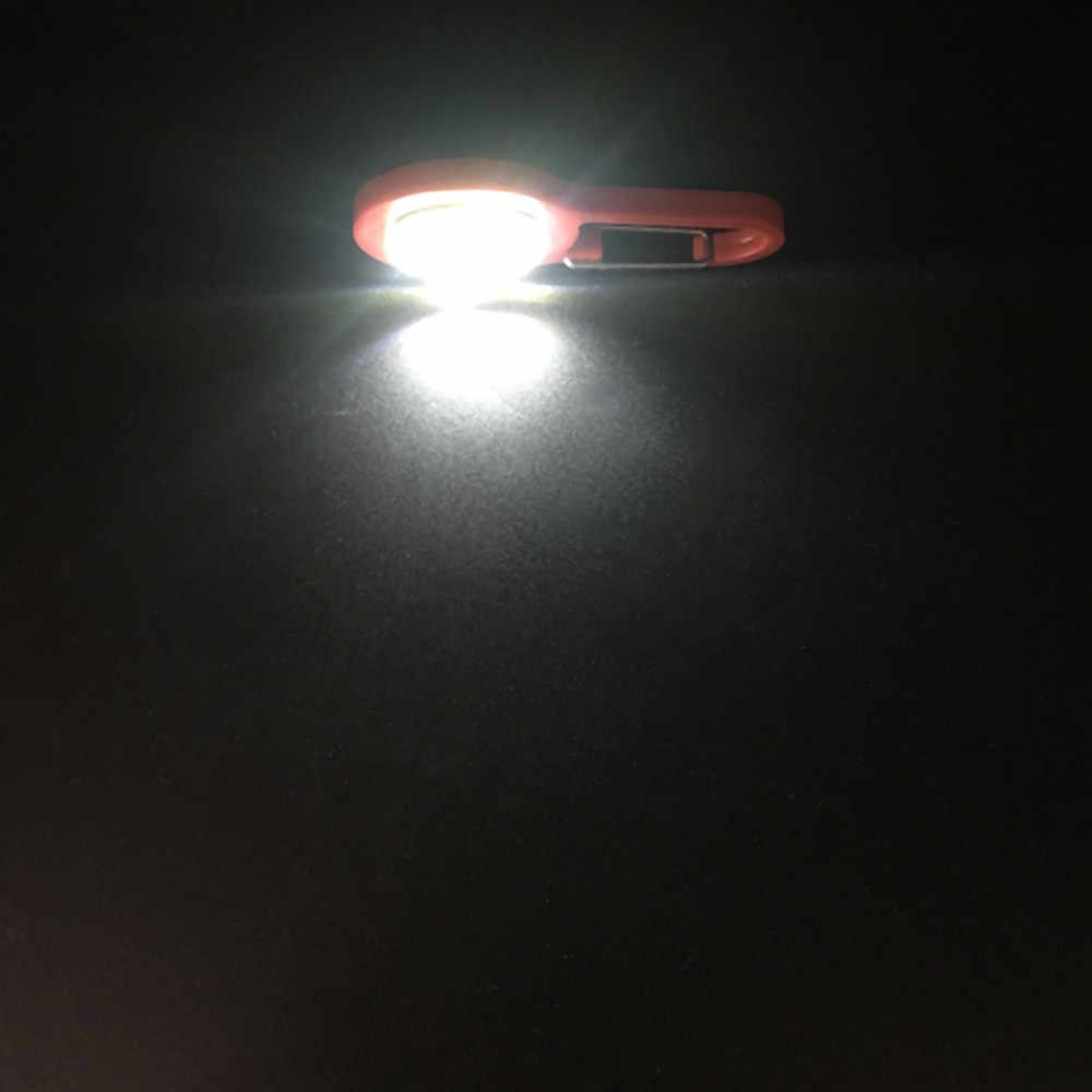 Несколько режимов освещения Велосипедный свет, usb-зарядка карабин с подсветкой, школьные сумки, предупреждающие огни, походные рюкзаки, светящиеся подвесные