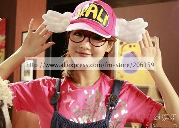Carino Dr. Slump Arale Chan COSPLAY Angel Wings Cappello Adult Version  halloween party 225bb323f29f