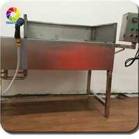 TSAUTOP 1.3*0.7*0.8m size hydro dipping machine with extra washing gun water transfer printing dipping tank