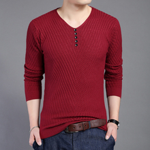 M-3XL!!Big SIZE Autumn Winter Christmas Sweater New Dress Knitted Sweater Men Clothing Brand Casual Shirt Cashmere Wool Pullover
