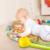Brinquedo ginásio Musical de Piano para 0 - 12 mês com chocalho mordedor música tapete colorido Mirrio desenvolvimento precoce 0 - 24 mês